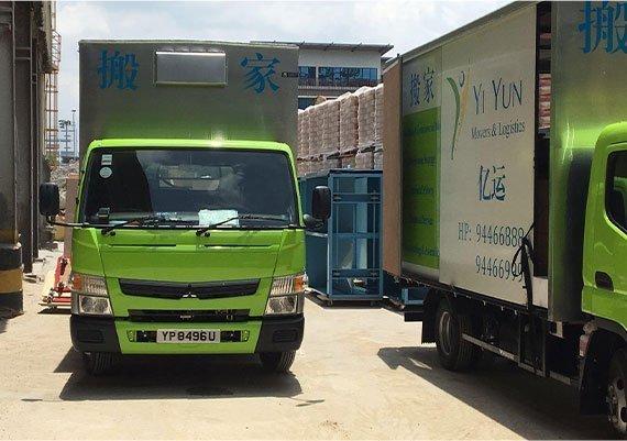 Movers company Lorry Singapore
